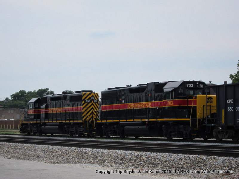 Iowa Interstate Freight in Blue Island, IL