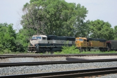 BNSF Freight in Blue Island, IL